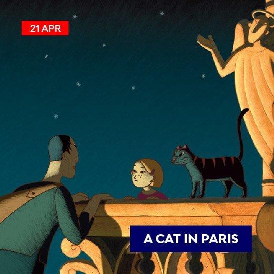 voilah-event-mosiac_animation - cat in paris - 2