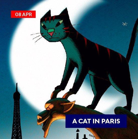 voilah-event-mosiac_animation - cat in paris