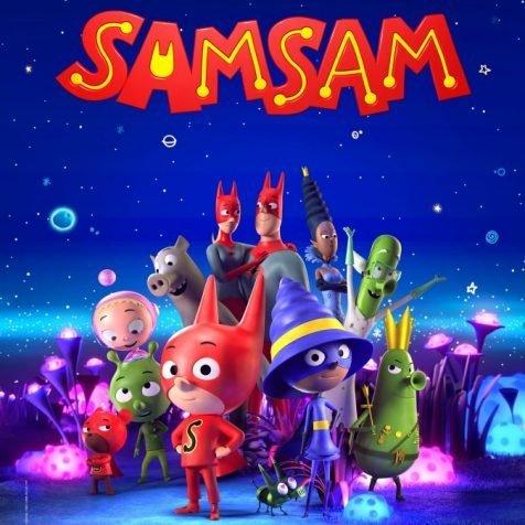 Sam Sam A4 Poster (reg)