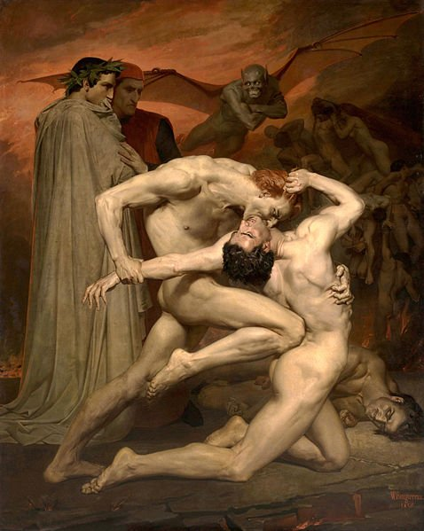 William Bouguereau Dante And Virgile Google Art Project 2