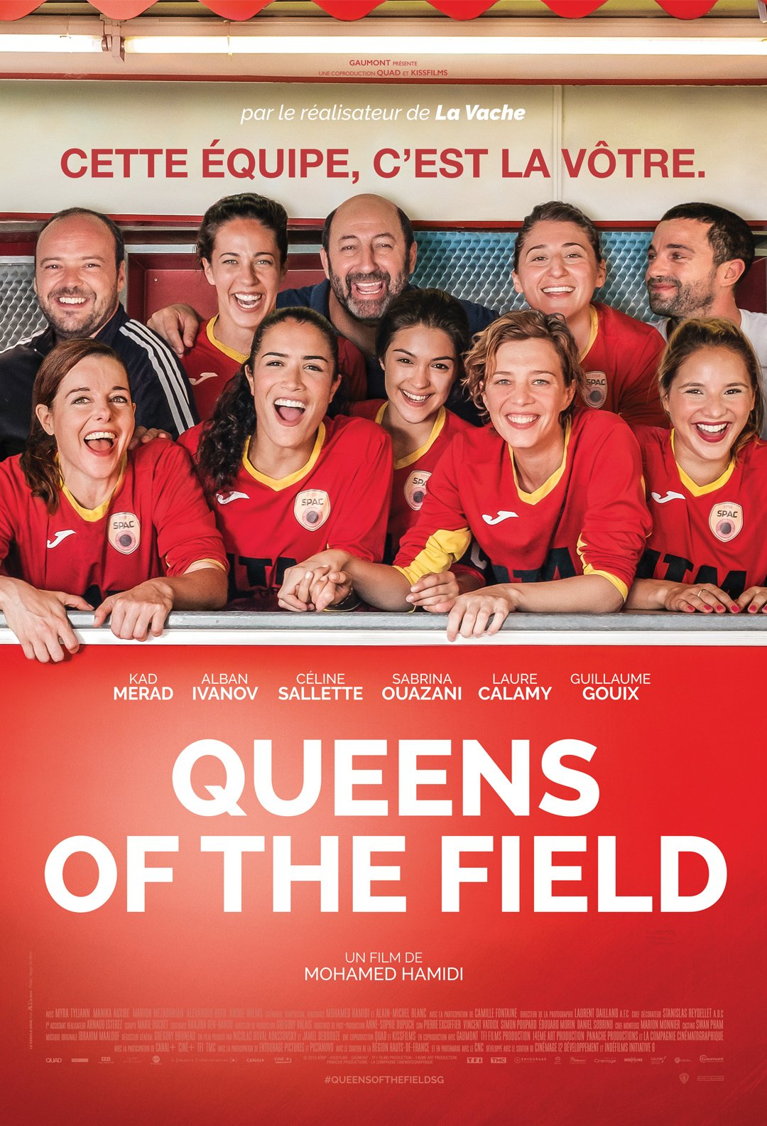 Queens Of The Field Digital Poster