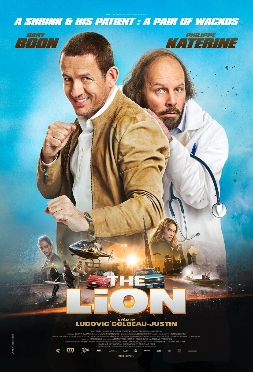 The Lion Digital Poster