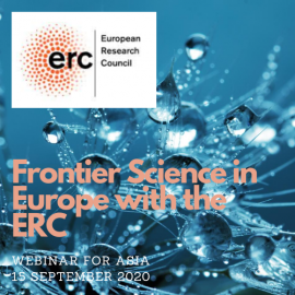 Frontier Science In Europe With The Erc 1
