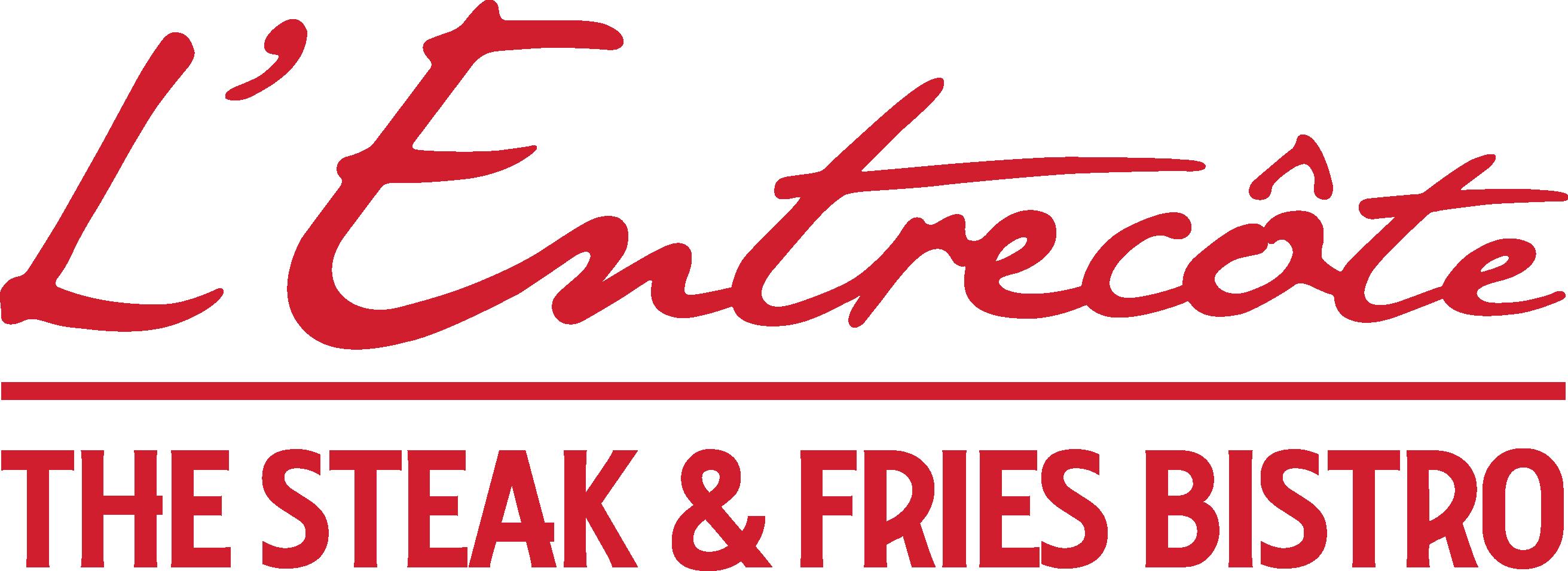Lentrecote Steak Fries Logo