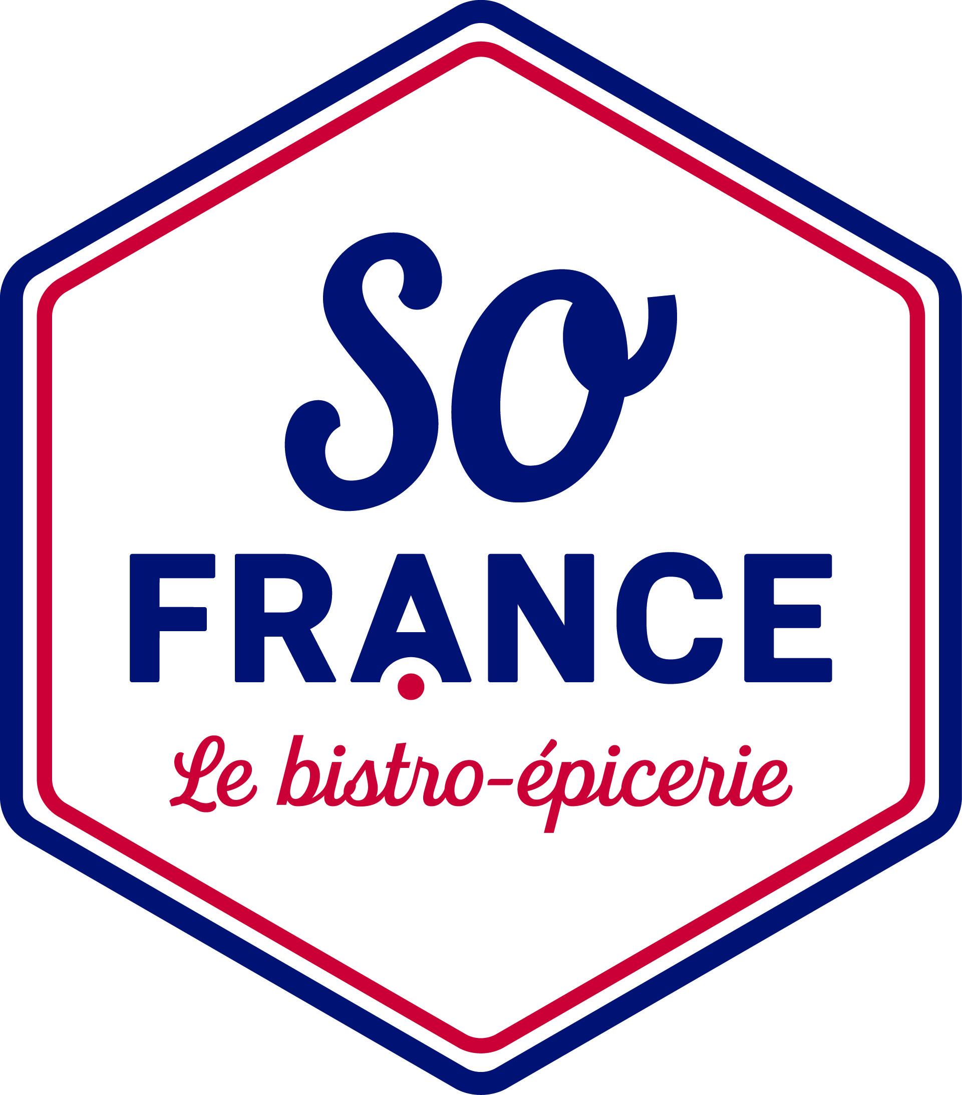 So France Le Bistro Epicerie. Logo