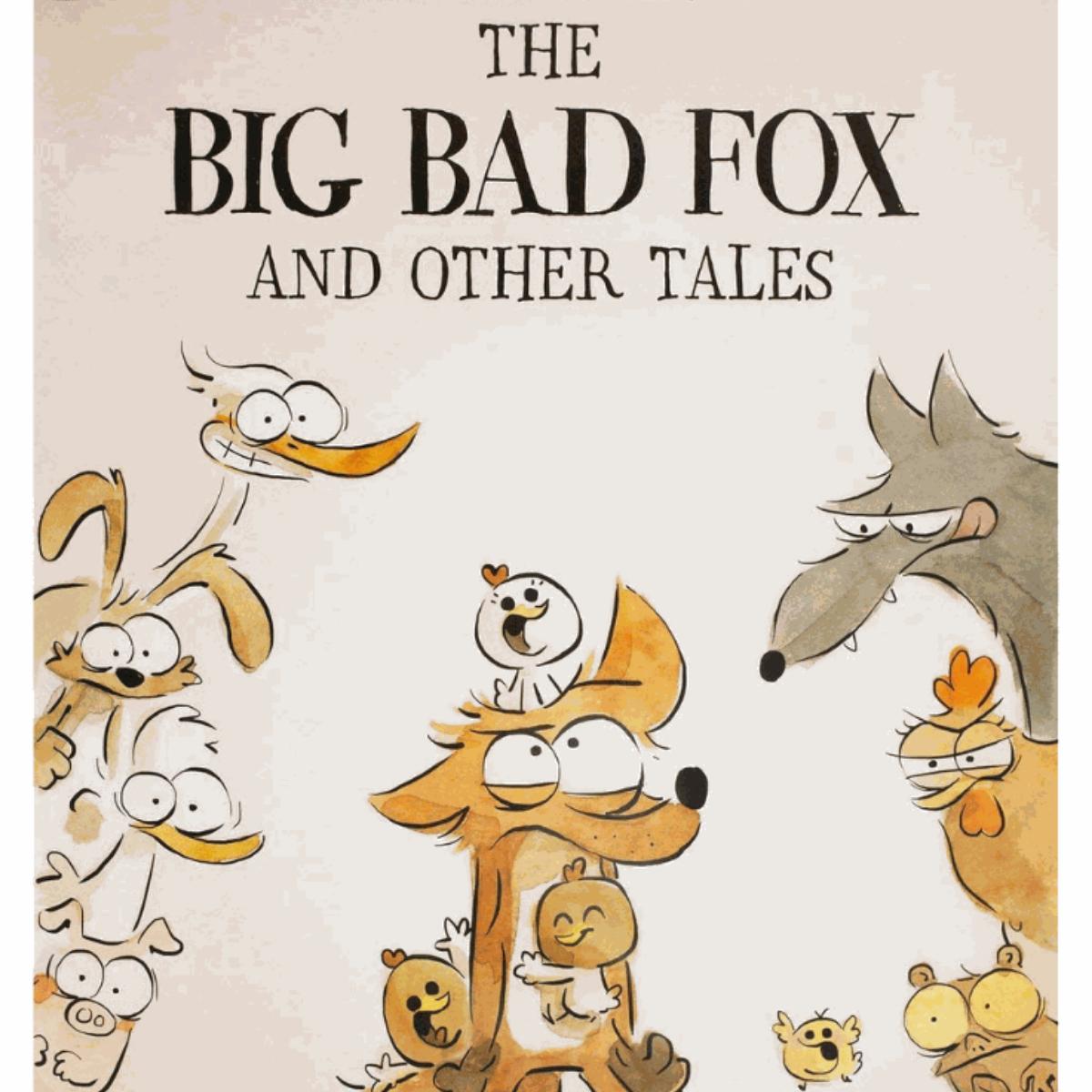 Big Bad Fox Square, No Text